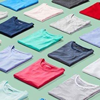 $9.10起 性价比之选Amazon 自营品牌男女经典款短袖、短裤等特价