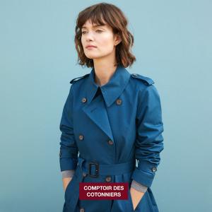 低至5折 £81纯色毛衣带回家11.11独家:Comptoir des Cotonniers 法式简约风美衣 精选大促