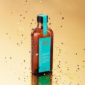 又降价 $31.26 (原价$44) 头发毛糙枯燥救星Moroccan oil 摩洛哥护发精油 100ml