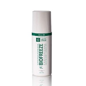 Biofreeze Professional Roll-On Pain Relief Gel, 3 oz. Bottle, Green