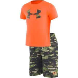 df2fd4ff795dd Nike Big Girls 1-Pc. Glitch Spiderback Swimsuit. Under ArmourToddler &  Little Boys 2-Pc. Rash Guard & Printed Swim Trunks Set