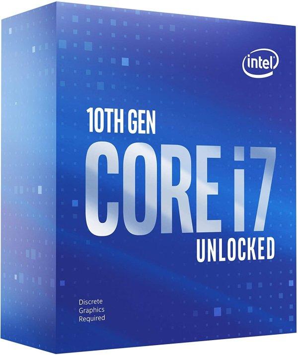 Core i7-10700KF 8C16T 睿频5.1 GHz 125W