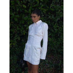 LionessThe Sweetest Thing Mini Dress White