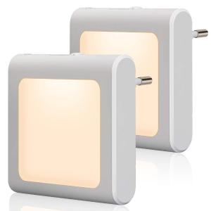 2个折后€9.2 原价€13.95Emotionlite 墙壁小夜灯 自动开关 精确调节亮度