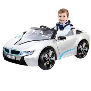 $182.68 给娃买豪车不纠结闪购:Rollplay BMW 宝马 i8 6V电池驱动儿童电动车