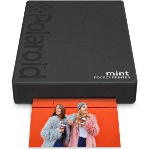 Polaroid Mint Pocket Printer w/Zink Zero Ink