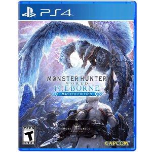 怪猎冰原大师版 $36.90海量热门 PS4 / Switch 实体版游戏特卖, 还可享受买二送一