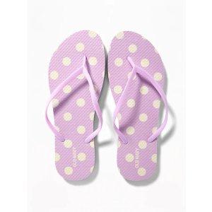 GapPatterned Flip-Flops for Women
