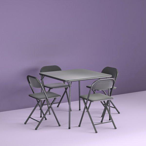 餐桌椅5件套
