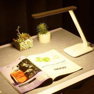 $14.44LITOM LED护眼触摸式阅读灯,9种亮度
