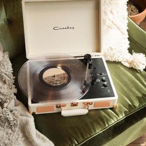 $99(原价$119) 欧阳娜娜VLOG同款Urban Outfitters Crosley 唱片机蓝牙音箱 精致高逼格