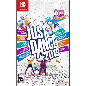 $19.99(原价$39.99)《Just Dance 2019》 Switch 实体版 聚会必备