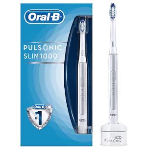 原价89.9欧 折后仅38,95 €博朗Oral-B Pulsonic Slim 1000声波电动牙刷