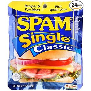$18.81SPAM Classic - Ham - Shelf Stable Protein - Single Serve - 2.5 Ounce (Pack of 24)