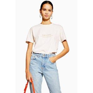 Topshop'Inspirational' T-Shirt