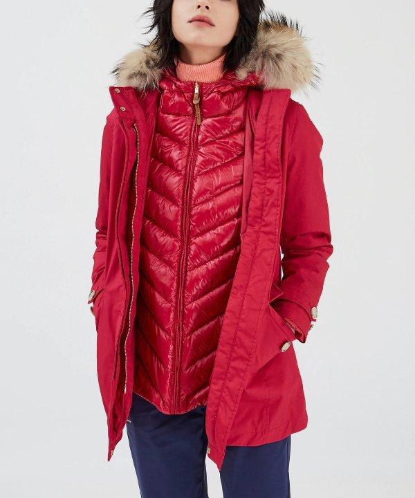 3合1保暖外套