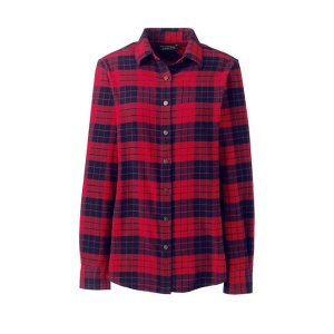 Lands' EndWomen's Flannel Shirt