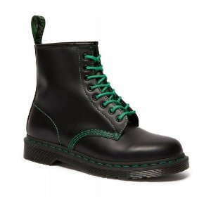 Dr Martens1460 绿鞋带八孔马丁靴