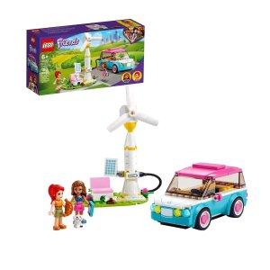 低至$5.96史低价:LEGO Friends 系列儿童拼搭玩具特卖,新入Olivia的电动车