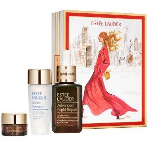 仅售€74(官网€135)Estee Lauder 一只霸哥价的圣诞礼盒 官网价5.5折含50ml小棕瓶
