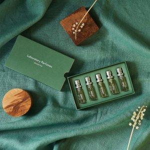 7.5折 €40收封面5支套装Laboratory Perfumes 英国小众香氛 香水、蜡烛都有 ins冷淡风