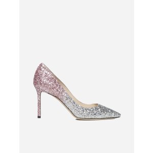 Jimmy ChooRomy 85 glitter degrade' fabric pumps
