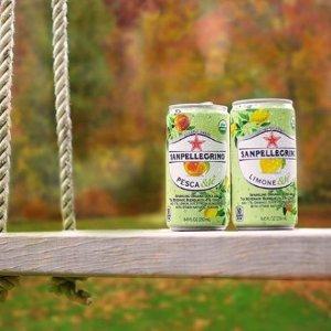 $15.92(原价$22.45) 24瓶装史低价:San Pellegrino 桃子味冰茶汽水 来自意大利的洋气