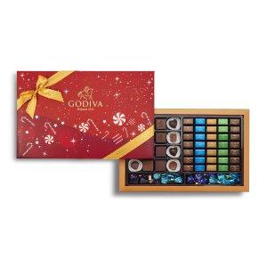 Godiva圣诞礼盒