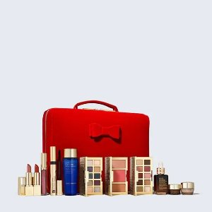 Estee Lauder变相2.3折价值€461!含正装小棕瓶!Blockbuster Box 护肤彩妆套装