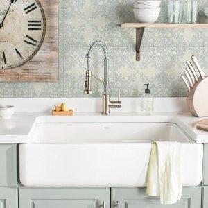 低至5折Wayfair 厨房升级洗手池 水龙头促销
