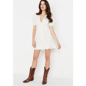Prairie V领连衣裙