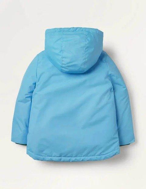 儿童羊羔绒内里保暖外套