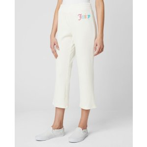 GOTHIC JUICY MICROTRY LOGO TRACK CROP PANT