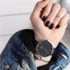 低至$149 秀恩爱必备Daniel Wellington 精选多款黑表盘手表热卖