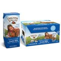 Organic valley 有机1%低脂牛奶 6.75 oz 12盒
