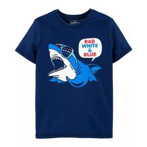 OshKosh B'goshOshKosh Fourth of July Shark Rashguard