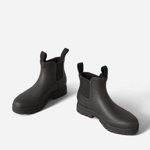 Everlane短款厚底雨靴