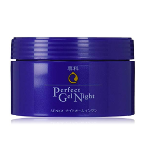 Amazon.com: Shiseido Senka Perfect gel Night renewal All-in-one for night 100g: Beauty