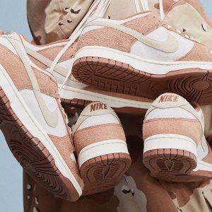 2月19日发售 定价€109.99预告:Nike Dunk Low 麦香奶茶色上架 秋冬卡其色首选