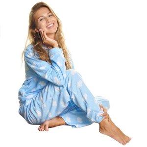 低至$25.99 多种花色Angelina 女士舒适摇粒绒睡衣热卖