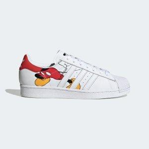 Adidas4Superstar 米老鼠联名小白鞋