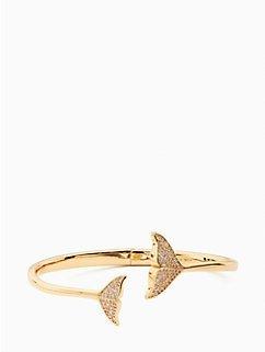 鲸鱼尾手镯