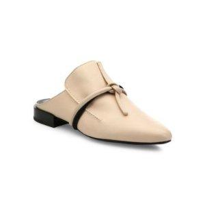3.1 Phillip Lim平底穆勒鞋