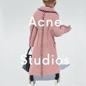5折起+额外7.5折 €59就收T恤Acne Studios 冬季大促开始 超多围巾、卫衣超低价 秋冬必备