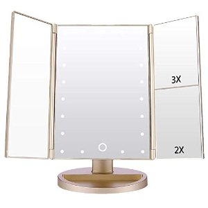$16.99起闪购:Easehold LED化妆镜低至3.7折热卖
