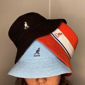 8折!€39收棒球帽Kangol 爆款配色折扣入 桃粉、纯白、拼色款等超百搭