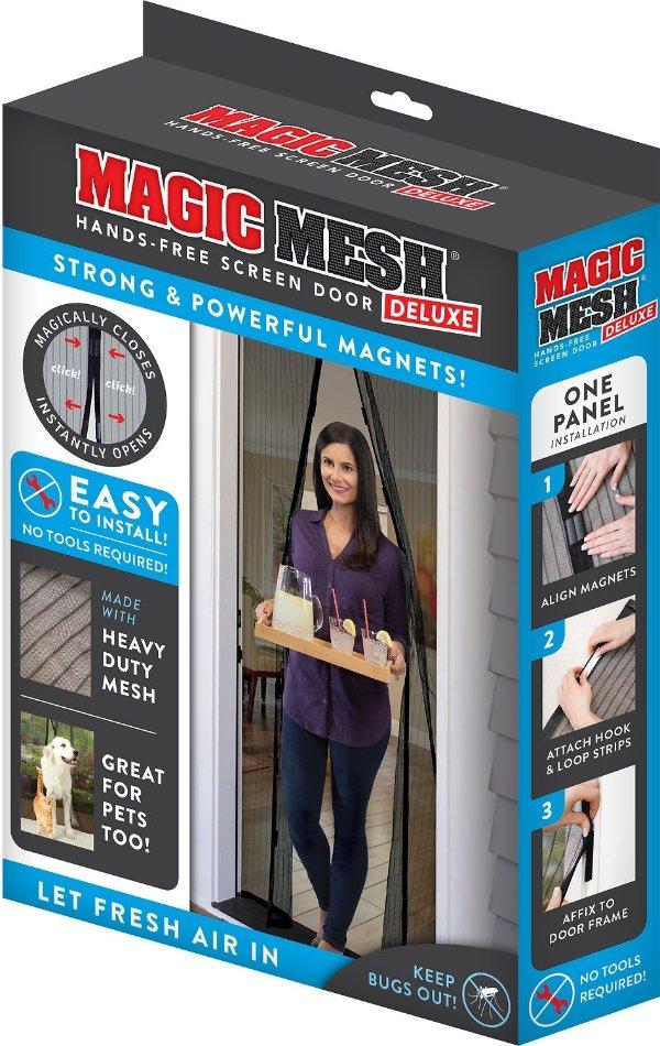 Magic Mesh 磁铁扣纱窗门帘