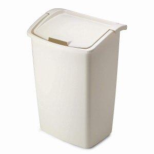 $11.94(原价$16.49)Rubbermaid 摇摆盖垃圾桶 11.25加仑