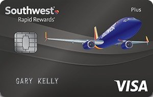 Earn up to 60,000 pointsSouthwest Rapid Rewards® Plus Credit Card