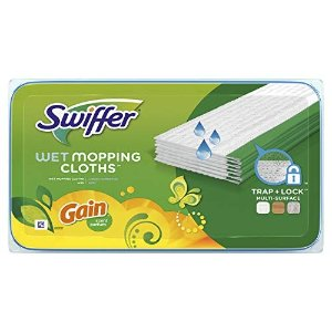 SwifferSwiffer 拖把替换湿拖布 24片
